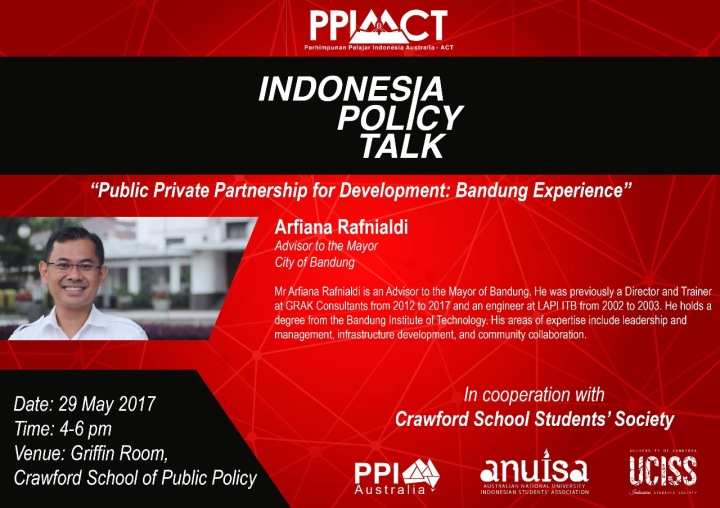 Public Private Partnership for Development: Bandung Experience